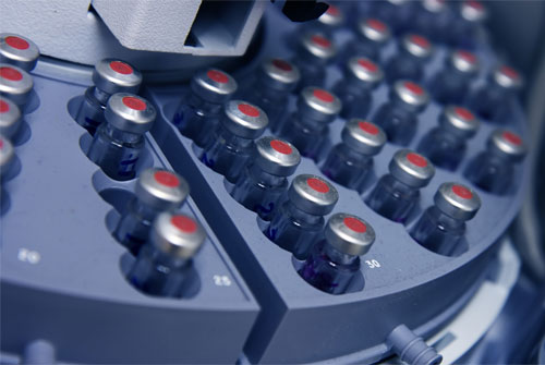 Autosample- Common feature of GC and HPLC systems